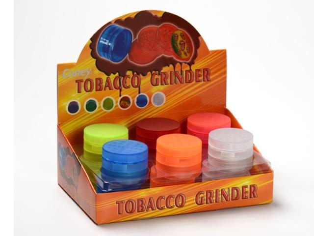 Κουτί με 12 τρίφτες καπνού CONEY με 4 πατώματα 5cm 0212420