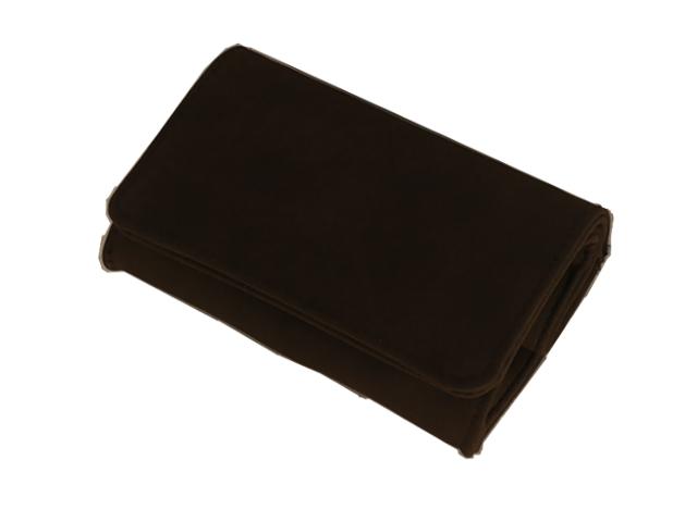 Καπνοθήκη ΔΙΕΘΝΕΣ σκούρη καφέ μικρή πουγκί 44408-110