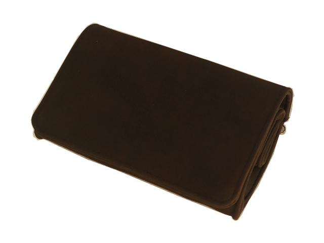 Καπνοθήκη ΔΙΕΘΝΕΣ σκούρη καφέ μεσαία πουγκί 44409-110