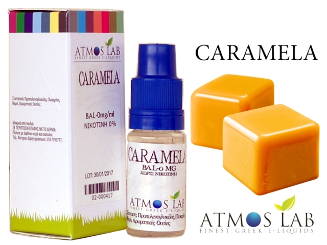 3485 - Atmos Lab CARAMELA (καραμέλα) 10ml