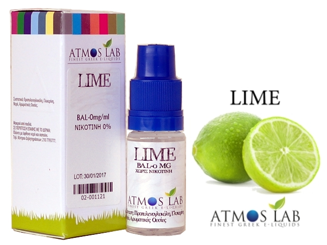 Atmos Lab LIME 30ml (λάιμ)
