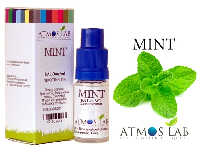 Atmos Lab MINT 30ml (μέντα)