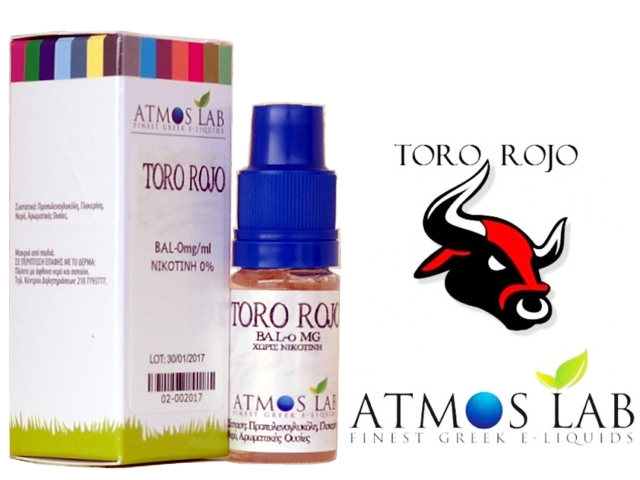 3492 - Atmos Lab TORO ROJO (redbull) 10ml
