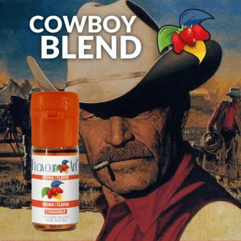3501 - Άρωμα Flavour Art COWBOY BLEND (καπνικό) 10ml