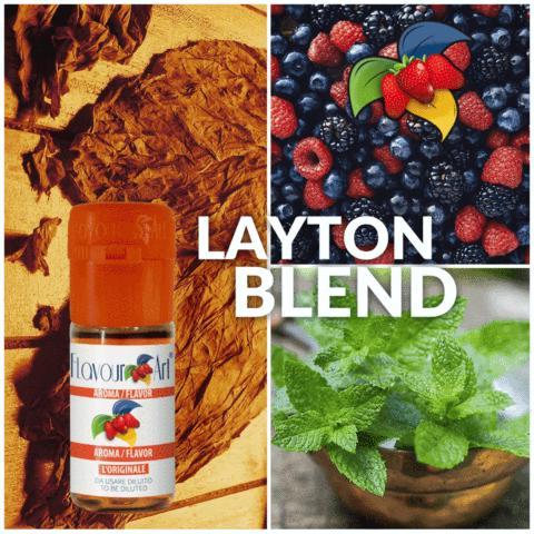 3505 - Άρωμα Flavour Art LAYTON BLEND (καπνικό) 10ml