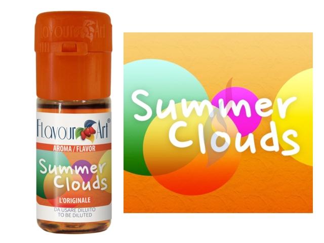 3513 - Άρωμα Flavour Art SUMMER CLOUDS (ροδάκινο και άνθος τριαντάφυλλο) 10ml