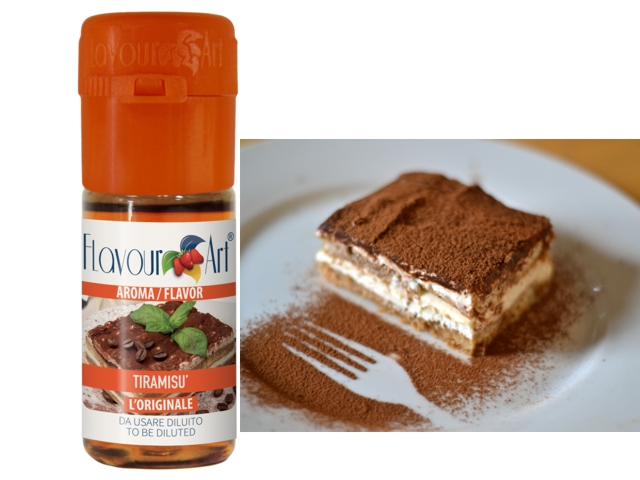 3520 - Άρωμα Flavour Art Booster flavor (Tiramisu) 10ml