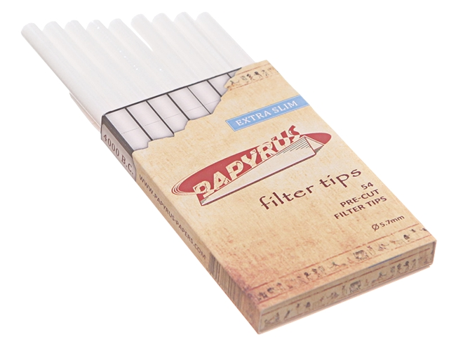 Φιλτράκια στριφτού PAPYRUS EXTRA SLIM 5.7mm 54