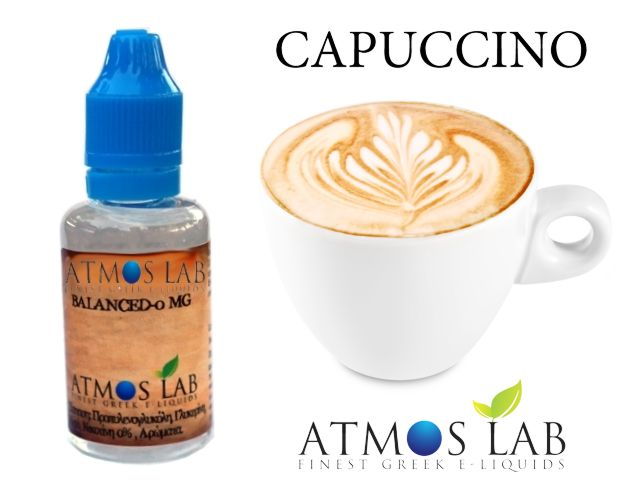 Atmos Lab CAPUCCINO 30ml (καπουτσίνο)