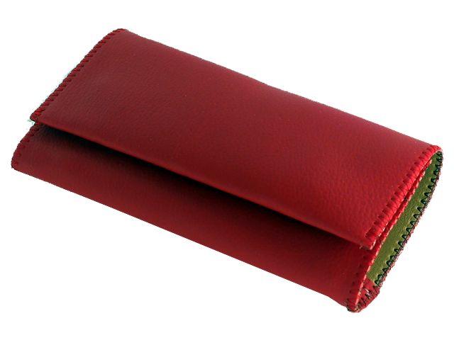 Καπνοθήκη SMOKA συνθετική κόκκινη για σακουλάκι καπνού