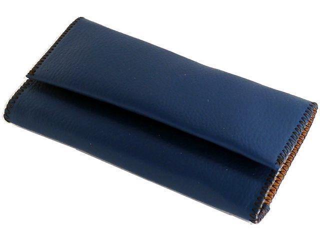 Καπνοθήκη SMOKA συνθετική μπλε για σακουλάκι καπνού