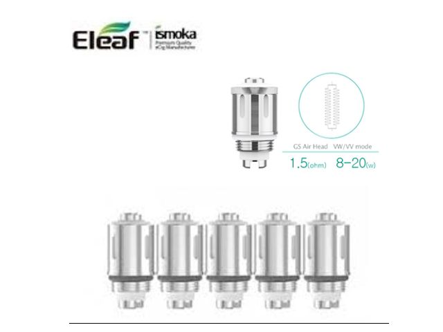 ������������� ������� & ����������� ELEAF GS AIR Pure Cotton (1.5ohm) 5 �������