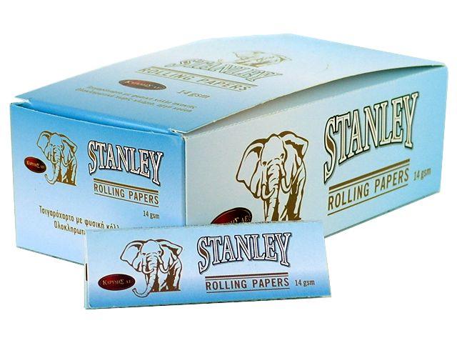 3720 - Κουτί με 50 χαρτάκια στριφτού STANLEY ΓΑΛΑΖΙΟ 14GSM