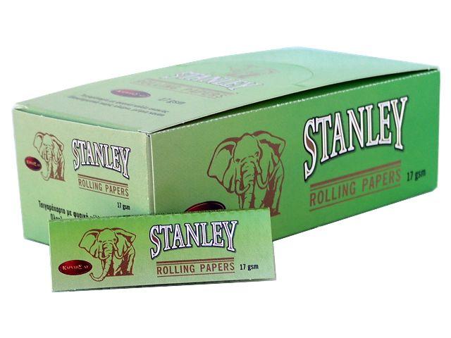3722 - Κουτί με 50 χαρτάκια στριφτού STANLEY ΠΡΑΣΙΝΟ 17GSM