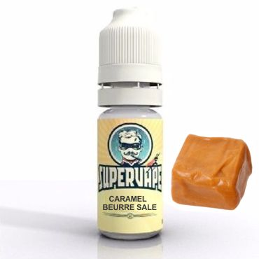 Άρωμα SuperVape CARAMEL BEURRE SALE Flavour 10ml (καραμέλα)