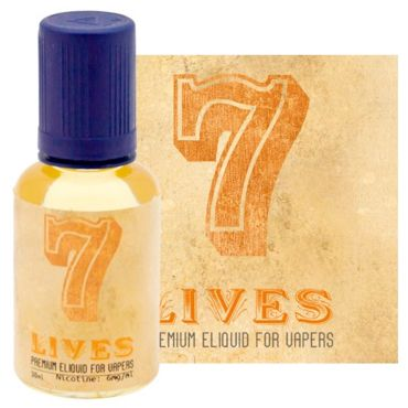 3827 - Seven 7 Lives 30ml (tobacco & sweet)