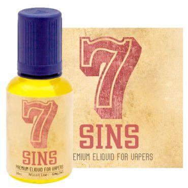 Seven 7 Sins 30ml (μανταρίνι λεμόνι μέντα)