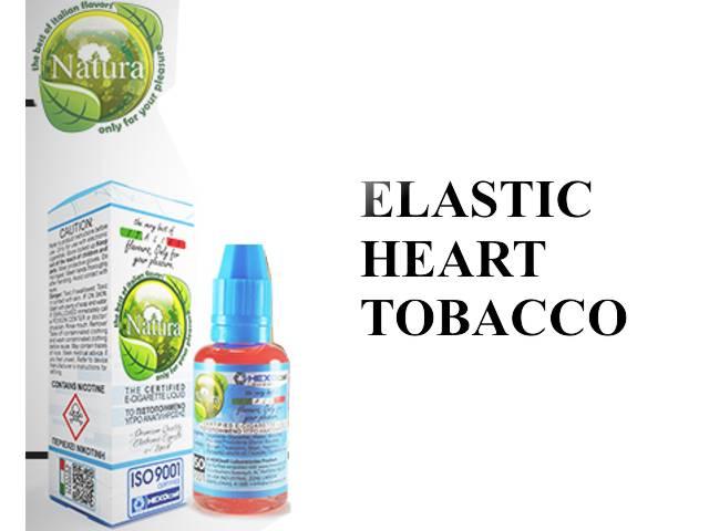 Υγρό αναπλήρωσης Natura ELASTIC HEART TOBACCO 30ml