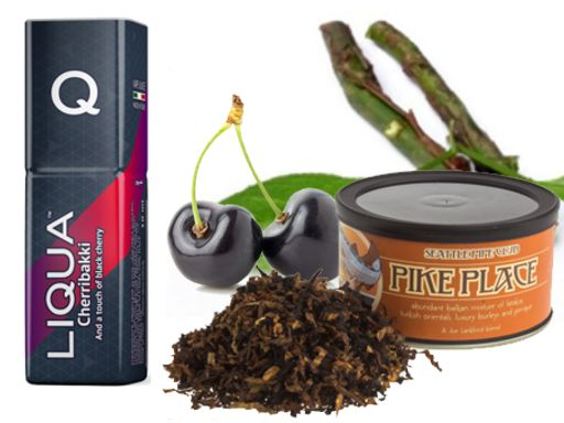 Liqua Q Cherribakki (καπνός κεράσι σανδαλόξυλο)10ml