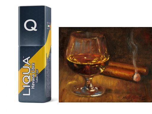 Liqua Q Havana Libre (πούρο Κούβας) 10ml