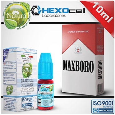 Υγρό αναπλήρωσης Natura MAXBORO από την Hexocell 10 ml