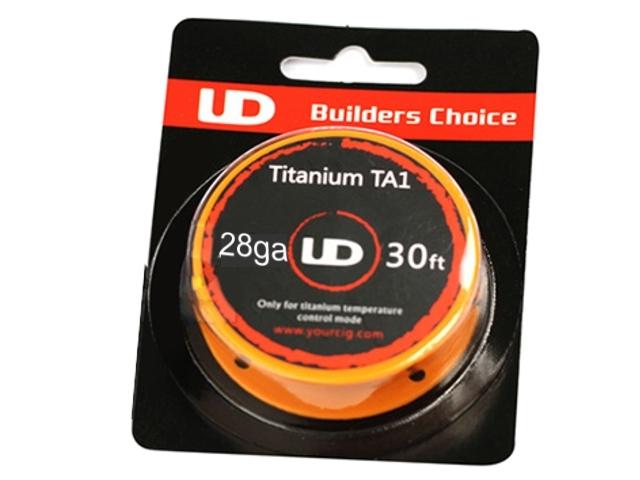 3974 - Σύρμα YOUDE TITANIUM TA1 28GA 0.30mm 10m