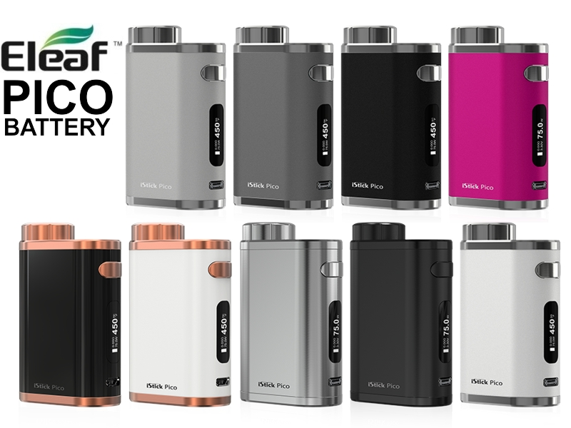 3977 - Eleaf iStick Pico TCR 75w Battery Body ( + usb )