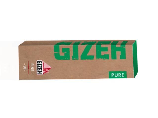Χαρτάκια στριφτού GIZEH PURE Fine 50
