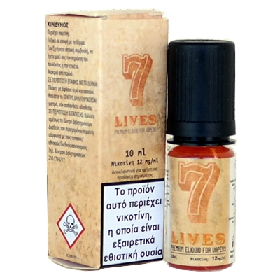 Seven 7 Lives 10ml (tobacco & sweet)