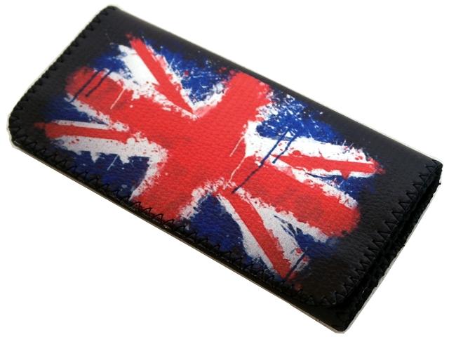 Καπνοθήκη Smoka English Flag NEW μεγάλο μέγεθος με latex