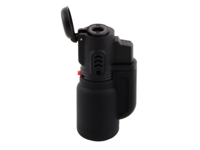 4104 - Αντιανεμικός αναπτήρας ATOMIC Bullet Jet Black Rubber 2515500