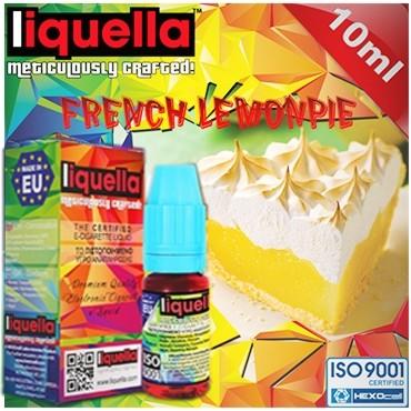 4118 - Υγρό αναπλήρωσης LIQUELLA FRENCH LEMONPIE (γαλλική λεμονόπιτα) 30ml