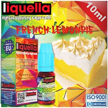 4118 - LIQUELLA FRENCH LEMONPIE (γαλλική λεμονόπιτα) 10ml