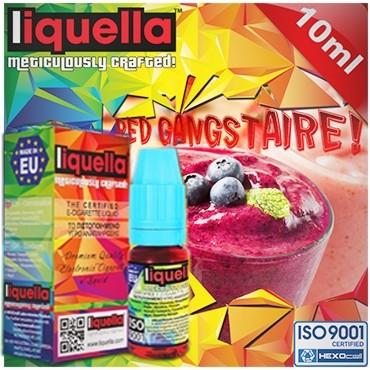 4119 - Υγρό αναπλήρωσης LIQUELLA RED GANGSTAIRE (φρούτα δάσους κοκταίηλ) 30ml