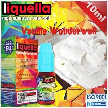 Υγρό αναπλήρωσης LIQUELLA VANILLA WONDERWALL (κρέμα βανίλια) 30ml