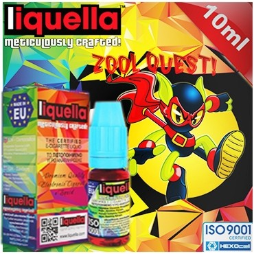 4122 - LIQUELLA ZOOL QUEST (mix γεύσεων) 10ml