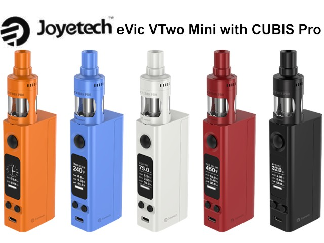 4162 - eVic VTwo Mini box kit (with Cubis Pro) by Joyetech