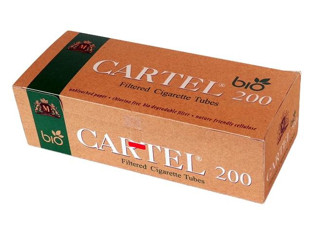 Άδεια τσιγάρα Cartel BIO 200 Ακατέργαστα Unbleached
