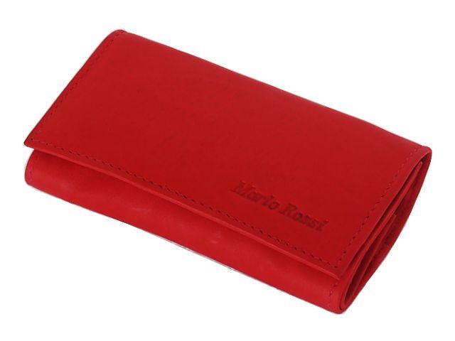 Καπνοσακούλα από γνήσιο δέρμα MARIO ROSSI 324-06 RED κόκκινη μικρή