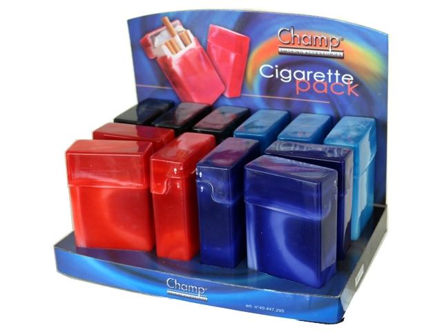 Κουτί με 12 πλαστικές θήκες CHAMP Cigarette Pack Spray DL-24 για πακέτο 20 τσιγάρων 4044778