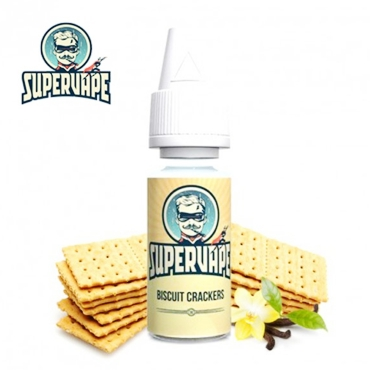 4208 - Άρωμα SuperVape BISCUIT CRACKER Flavour 10ml (μπισκότο)