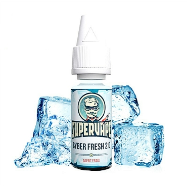 4211 - Άρωμα SuperVape CYBER FRESH Flavour 10ml (μέντα)