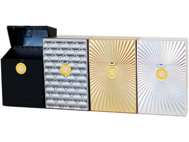 Πλαστική θήκη CLIC BOXX ANAGLIFA για πακέτο 20 τσιγάρων 380170 (ανοίγει αυτόματα)
