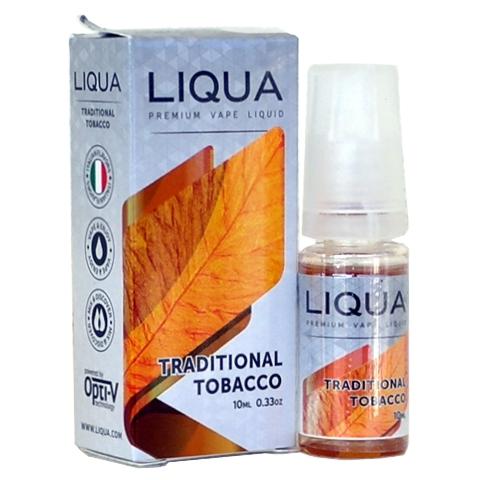 Liqua TRADITIONAL TOBACCO 10ml (καπνικό με επίγευση σανδαλόξυλο)