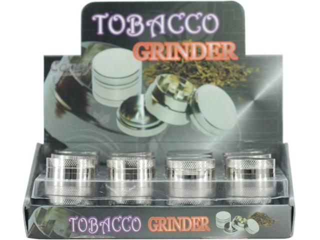Κουτί με 24 τρίφτες καπνού CO-3-Parts 30mm Grinder με 3 πατώματα