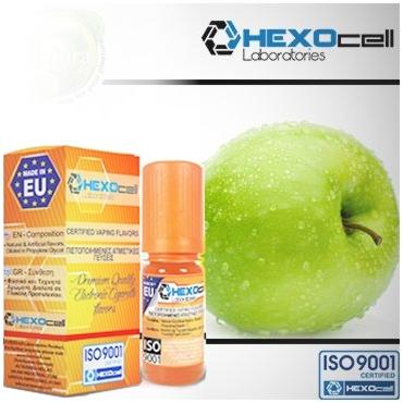 Άρωμα Hexocell GREEN APPLE 10ml (πράσινο μήλο)