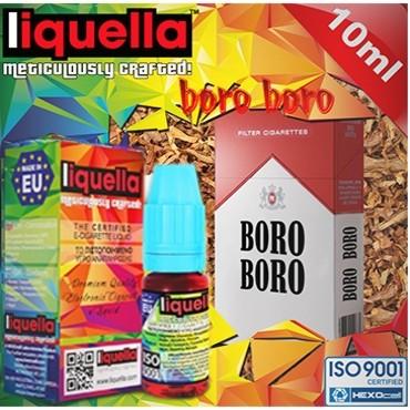 4371 - Υγρό αναπλήρωσης LIQUELLA BORO BORO TOBACCO (καπνικό) 30ml