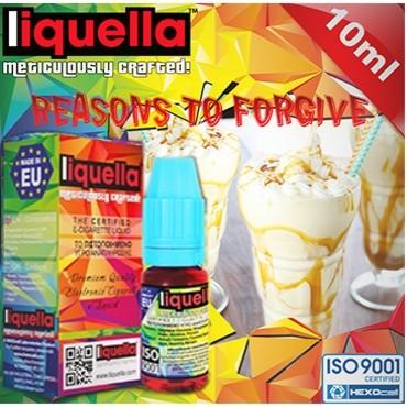 Υγρό αναπλήρωσης LIQUELLA REASONS TO FORGIVE 30ml (κρέμα καραμέλα)