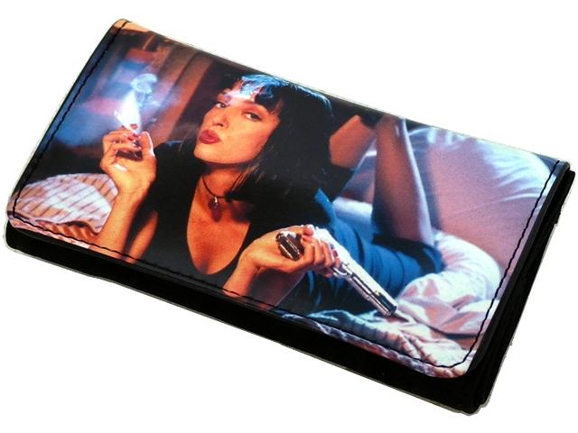 Καπνοθήκη VAROUGLI PULP FICTION μεσαίο μέγεθος με latex