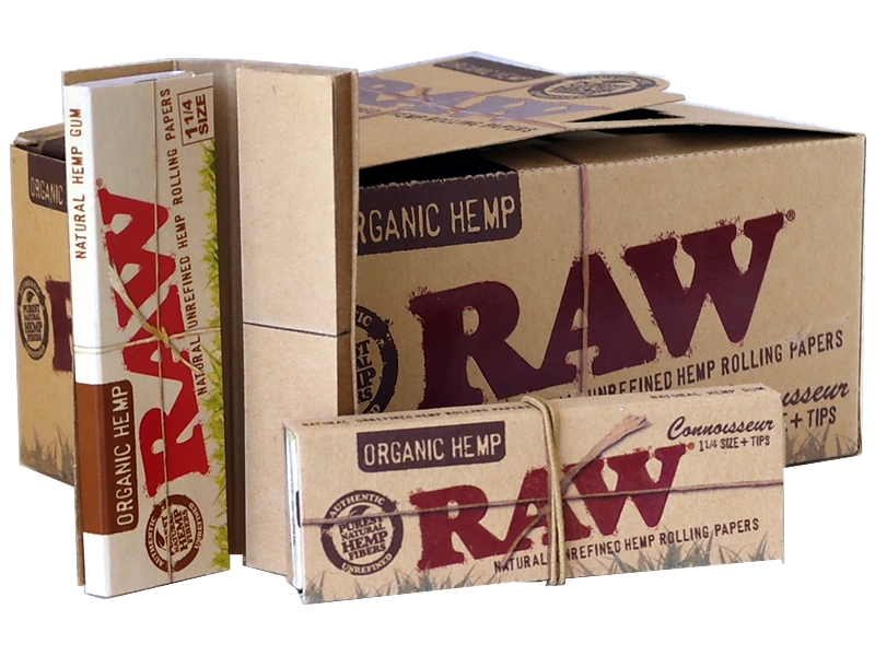4428 - ����� �� 24 �������� RAW ORGANIC Connoisseur 1 ��� 1 ������� ��� tips 32 ����� ��� 32 ��������